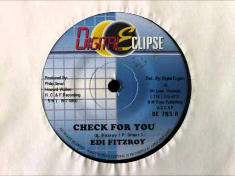 EDI FITZROY - CHECK FOR YOU