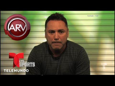 Oscar de la Hoya quiere ser presidente de EE.UU. | Al Rojo Vivo | Telemundo