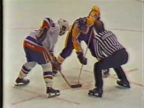 La Kings 1980s footage vs. NY Islanders