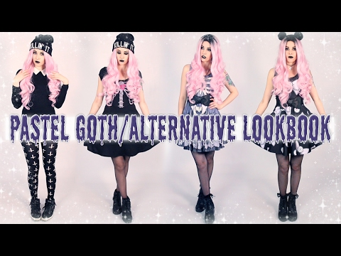 Pastel Goth/Alternative Lookbook