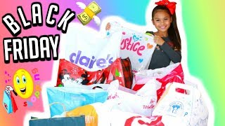 Black Friday Haul 2017 Justice, Claire's, Zara and More Holiday Shopping | Tiana Hearts