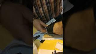 HOW TO REPAIR RUBBER VINYL PLASTIC  WITH GERMAN BLACK BULL ADHESIVE
