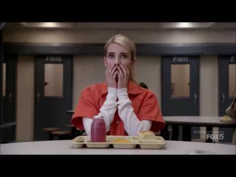 Scream Queens 1x05 - Prison Scene
