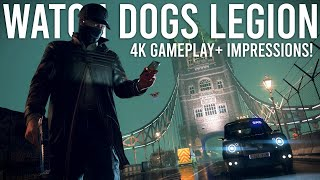 Watch Dogs Legion - 4K Gameplay and First Impressions!
