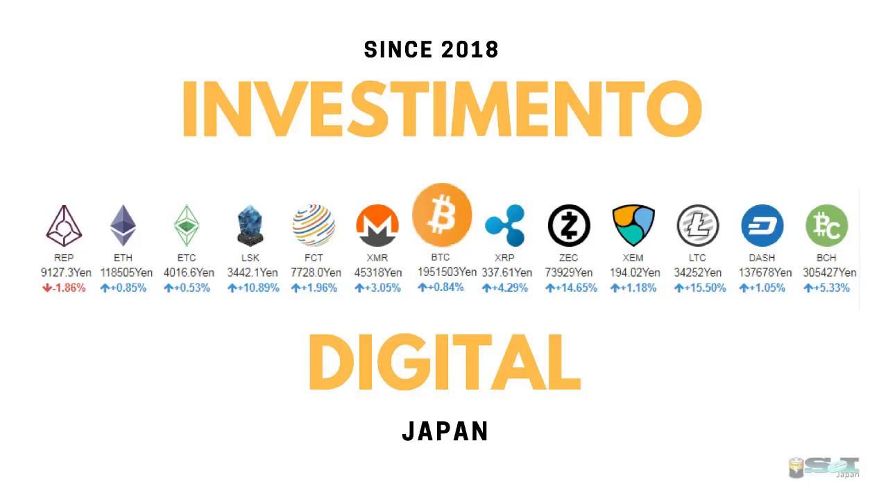 BC do Japão conduzirá testes com moedas digitais