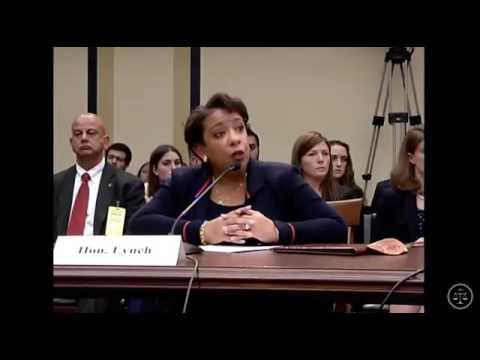 Rep Jim Jordan  Corners Attorney General Lynch   Admits Clinton Case Was DIFFERENT!   YouTube