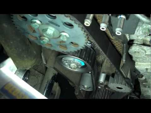 How To Replace Timing Belt Cambelt And Water Pump On 2 0 Tdi Engine Audi A6 C6 4f Funnycat Tv