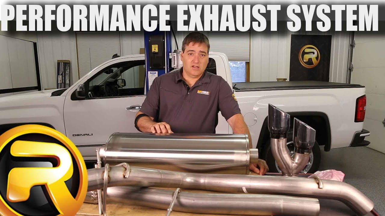 DIY dual exhaust system 2.5 MA pipe Flowmaster Super 44 Truck Exhaust Kits