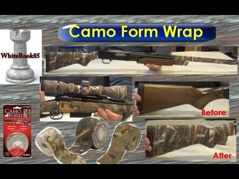 Using Camo Form Wrap On The Mossburg 500