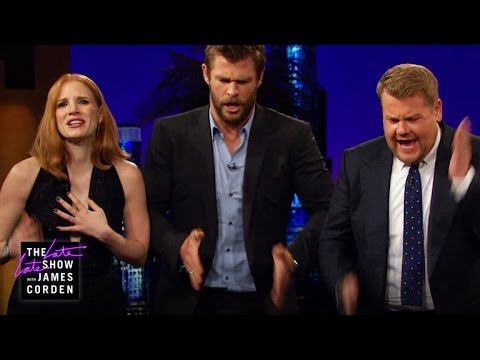 Thumbnail: Emily Blunt & James and Jessica Chastain & Chris Hemsworth Bonded with Music