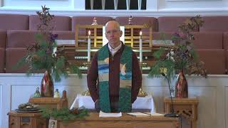 Congregational Church of Boothbay Harbor Scripture & Sermon for January 17 2021