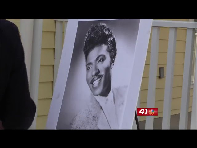 Little Richard's home opens