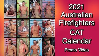 Australian Firefighters & CATS - 2021 Calendars now available