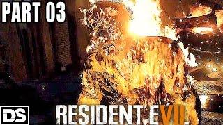 Resident Evil 7 Gameplay German #3 - Bein ab, Kopf ab - Let