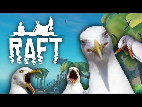 A Seabird is a Terrible Pet - Raft: Domesticated Update - #6 (Raft Multiplayer Gameplay)