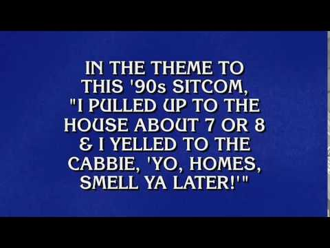Alex Trebek Rapped The 'fresh Prince' Theme Song