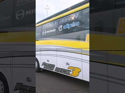 Bus Bhina Karya Jaya Keluar Pelabuhan