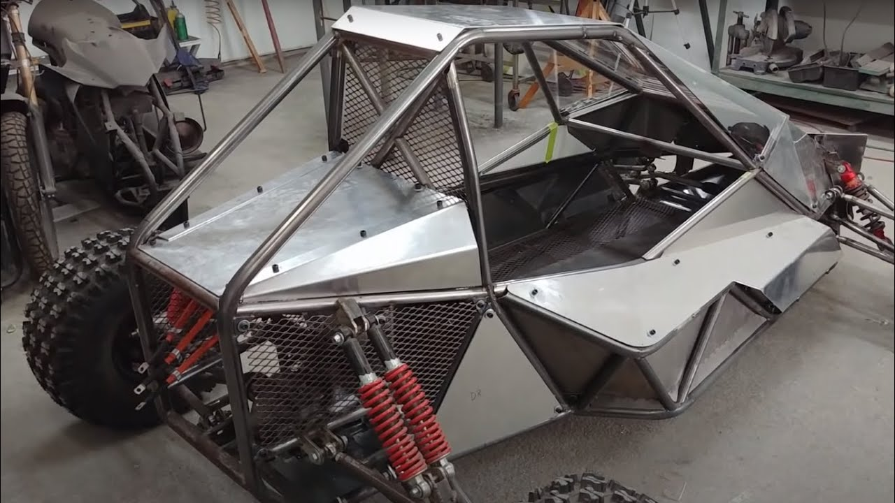 Building An Off Road Electric Crosskart Buggy, Ep 4: Body Panels