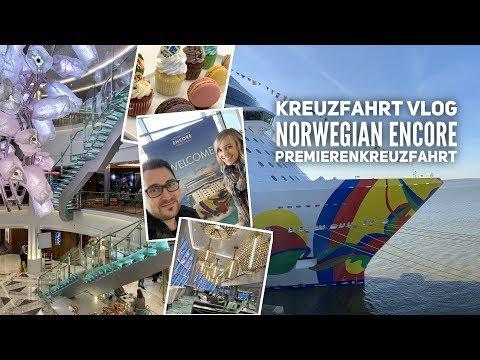 Vlog: Premierenkreuzfahrt mit der Norwegian Encore