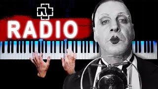 Rammstein - Radio   Piano cover