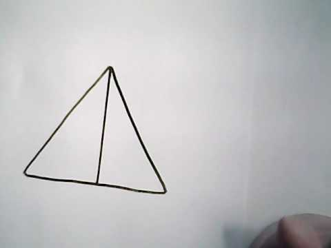 How To Draw The Deathly Hallows Symbol Harry Potter Youtube