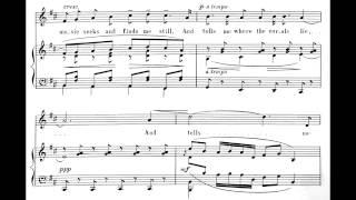 Where Corals Lie - a song by Sir Edward Elgar