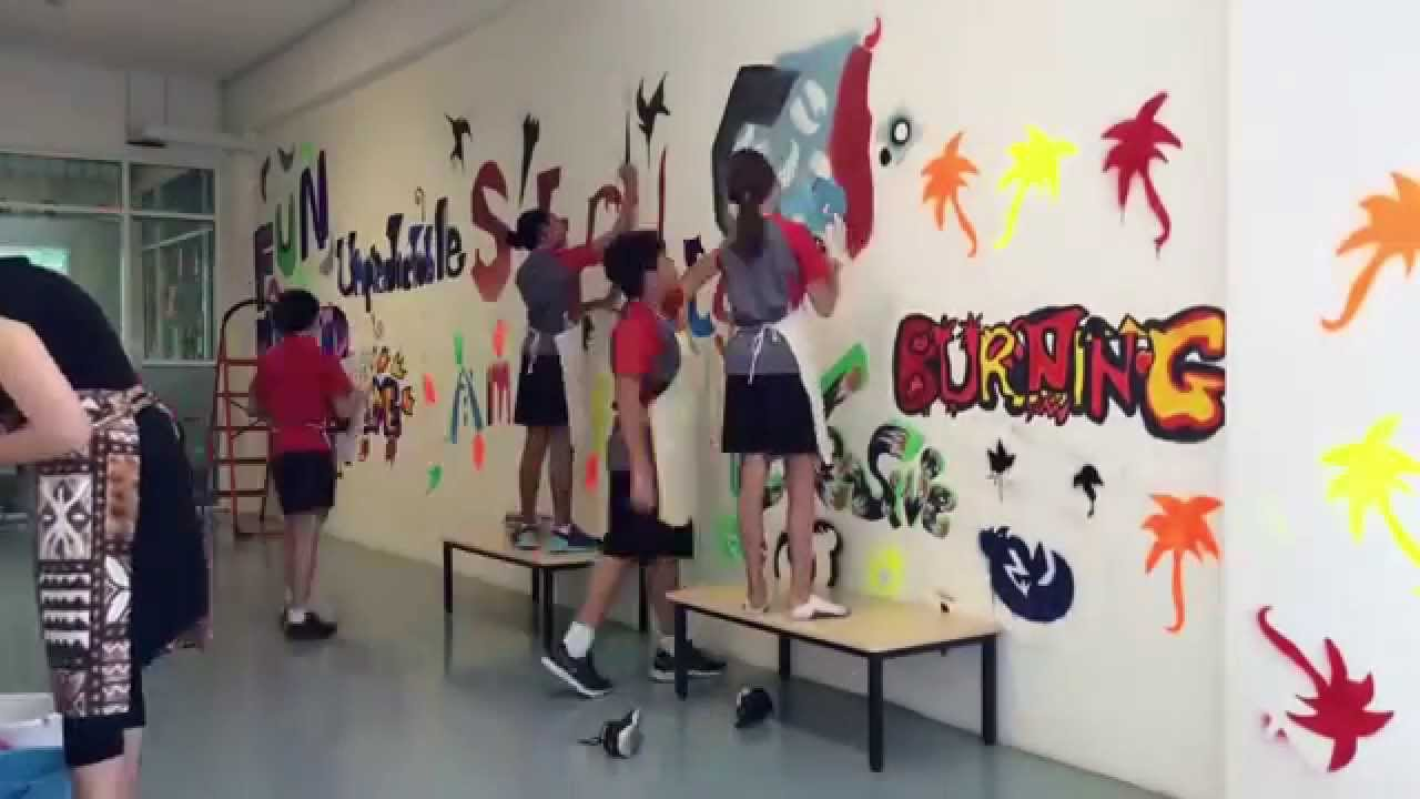 Grade 5 Ib Pyp Exhibition Graffiti Art Youtube
