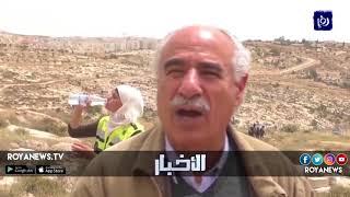 قوات الاحتلال تقمع مسيرة العودة المنطلقة من مدينة بيت لحم - (10-5-2018)