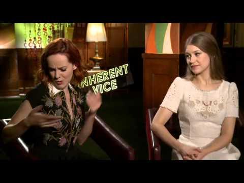 Jena Malone and Joanna Newson talk Inherent Vice