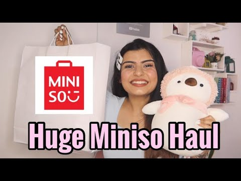 Best Miniso India Haul Most Affordable Shopping