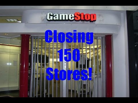 GameStop Closing 150 stores - YouTubeGamestop