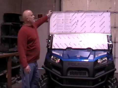 Installation Tutorial for a 2009 Ranger XP | UTV Windshields & Accessories