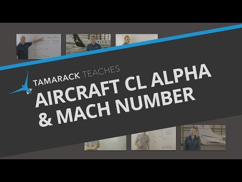 The Relationship Between Aircraft CL Alpha & Mach Number