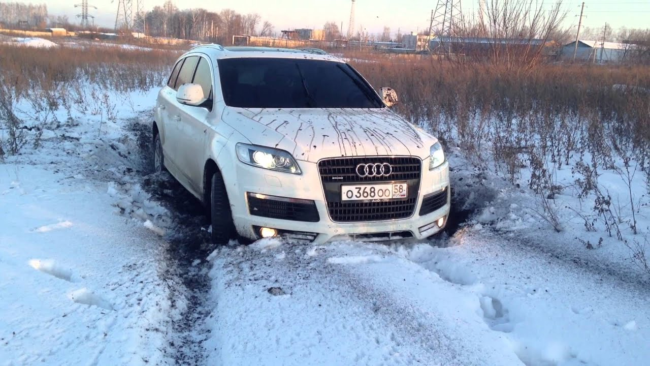 Audi Q7 Off Road Youtube