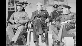 И.В.Сталин в Иране (Тегеранская конференция 1943 г.), документальные кадры HD1440