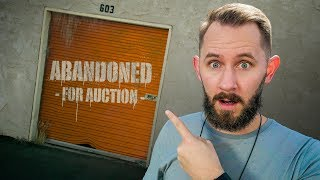 Unboxing 10 MYSTERY Products From an ABANDONED Storage Unit!