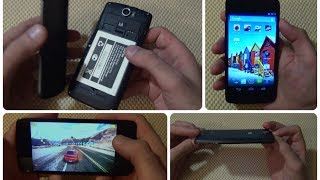 Смартфон Micromax A114R, Первый Русскоязычный Обзор / от Арстайл /