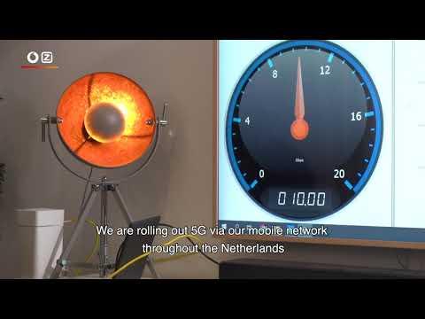 Ziggo 10Gbps test in TEC Campus, Amsterdam (ENG)
