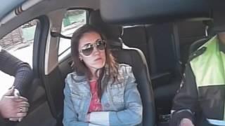 погоня за Q5 с блатными номерами в Тюмени