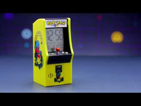 PAC-MAN Arcade Cabinet Alarm Clock   Paladone