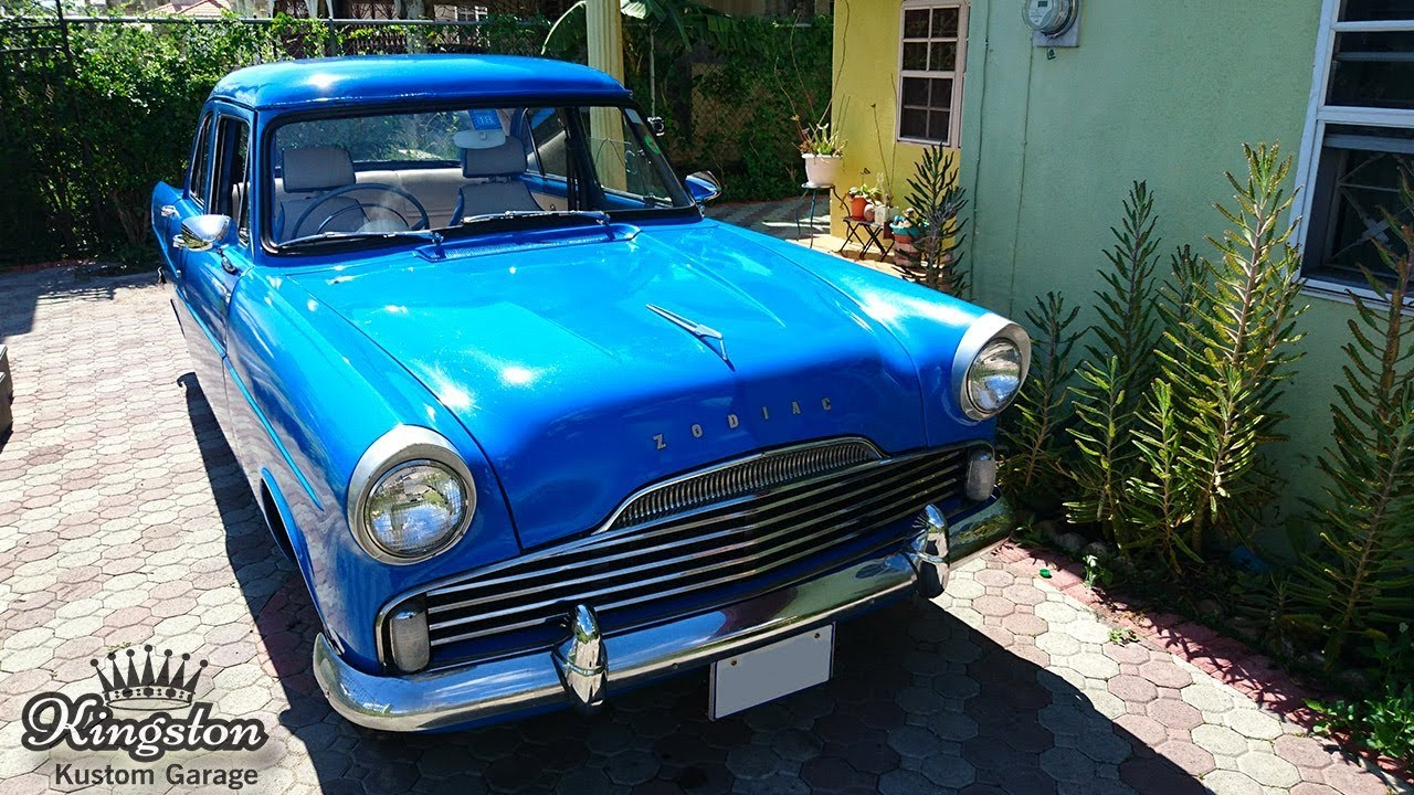 Vintage Cars For Sale In Jamaica: 1958 Ford Zodiac (British Ford) Classic Car In Jamaica