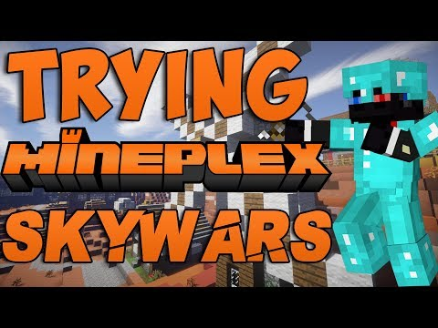 Trying Mineplex Skywars instead of Hypixel (Gone...uhm...weird)
