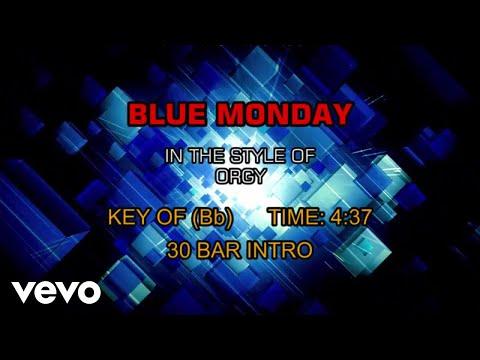ORGY - Blue Monday (Karaoke)