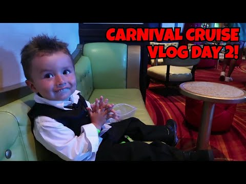3 Year Old Flirting in the Cruise Bar   Day 2 of Cruise