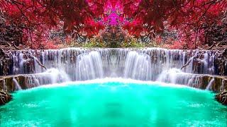 Видеофоны!!! Видеофон Водопад Красивая сказка! Футаж для монтажа видео и слайд-шоу!!!