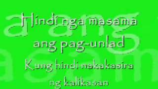 Masdan Mo Ang Kapaligiran-Asin.wmv