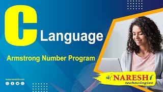 Armstrong Number Program in C | C Language Tutorial | Mr. Srinivas