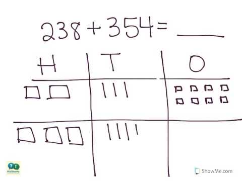 Number Names Worksheets : adding 3 digit numbers without ...