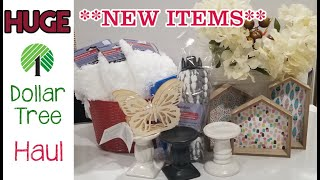 HUGE! Dollar Tree Haul **NEW ITEMS**