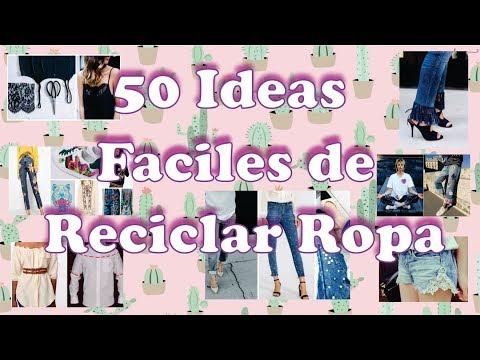 50 Ideas Faciles de reciclar Ropa!!  👗👖👚🎽 ♻